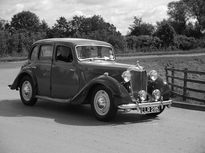MG-Y Saloon Cars - 1950