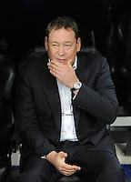 FUSSBALL   CHAMPIONS LEAGUE   SAISON 2011/2012  Achtelfinale Rueckspiel 14.03.2012 Real Madrid  - ZSKA Moskau  TrainerLeonid Slutski (ZSKA Moskau) nachdenklich