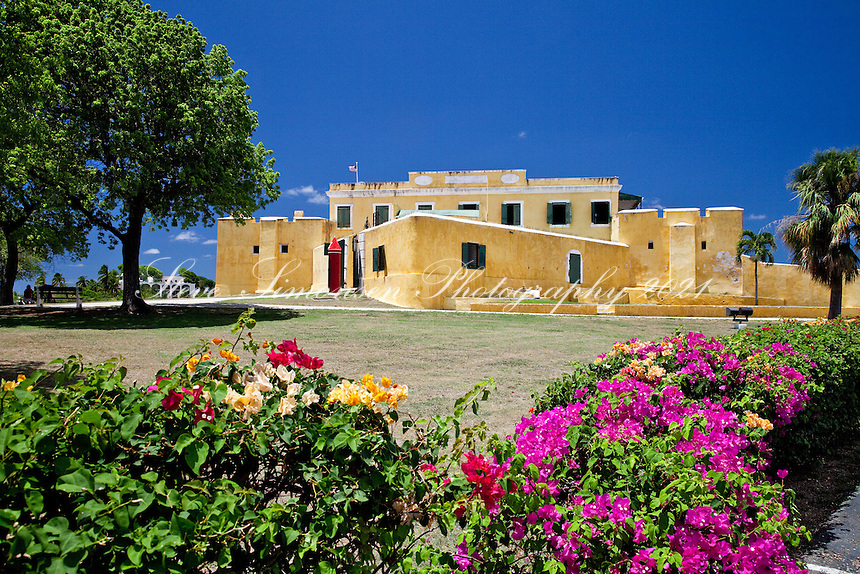Fort Christiansvaern.Christiansted, St Croix.US Virgin Islands