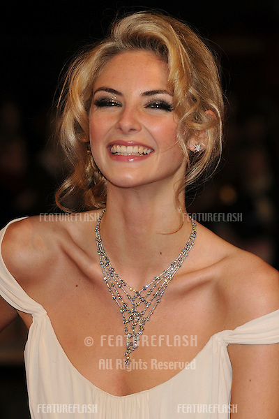 Tamsin Eggerton arriving for the 'St. Trinians's 2: The Legend of Fritton's Gold' at the Empire Leicester Square, London.  09/12/2009 Picture by : Steve Vas / Featureflash