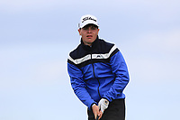 Sam Murphy (Portumna) on the 10th tee during Round 4 of The East of Ireland Amateur Open Championship in Co. Louth Golf Club, Baltray on Monday 3rd June 2019.<br /> <br /> Picture:  Thos Caffrey / www.golffile.ie<br /> <br /> All photos usage must carry mandatory copyright credit (© Golffile | Thos Caffrey)