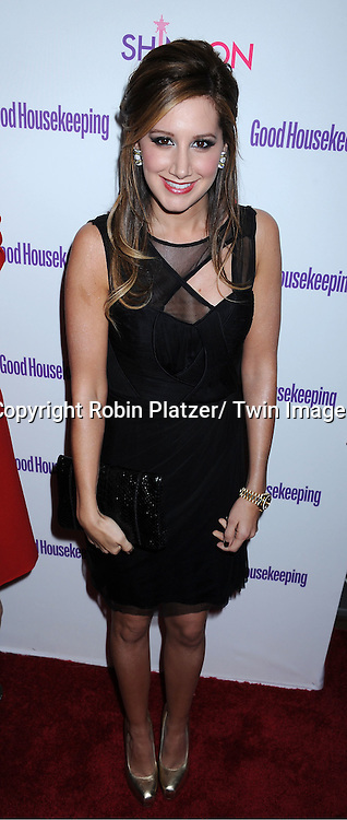 """Ashley Tisdale attending The Good Housekeeping """"Shine On"""" Event .on April 12, 2011 at Radio City Music Hall in New York City. This event benefits The National Women's History Museum."""