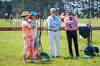 Candid fun during the CCI1* 1st Horse Inspection. 2017 NZL-Puhinui International 3 Day Event. Auckland. Thursday 7 December. Copyright Photo: Libby Law Photography
