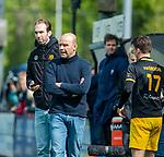 BLOEMENDAAL -  coach Eric Verboom (Den Bosch)  tijdens de hoofdklasse competitiewedstrijd hockey heren,  Bloemendaal-Den Bosch (2-1).  COPYRIGHT KOEN SUYK