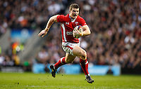 Photo: Richard Lane/Richard Lane Photography. England v Wales. 25/02/2012. Wales' Scott Williams attacks.