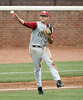 Oklahoma defeated Appalachian State during the NCAA regional Championship June 4, 2012 at Davenport Field in Charlottesville, Va. Photo/Andrew Shurtleff .