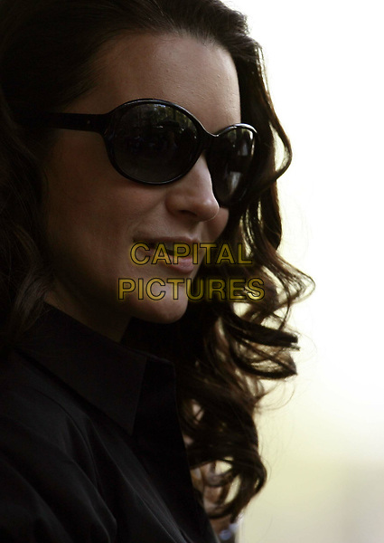 Sex and the City (2008) <br /> Behind the scenes photo of Kristin Davis<br /> *Filmstill - Editorial Use Only*<br /> CAP/MFS<br /> Image supplied by Capital Pictures