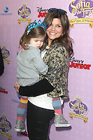 BURBANK, CA - NOVEMBER 10: Tiffani Thiessen and Harper Smith at the premiere of Disney Channels' 'Sofia The First: Once Upon a Princess' at Walt Disney Studios on November 10, 2012 in Burbank, California. Credit: mpi28/MediaPunch Inc. /NortePhoto