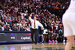 DALLAS, TX - MARCH 31:  Head coach Vic Schaefer of Mississippi State during the 2017 Women's Final Four at American Airlines Center on March 31, 2017 in Dallas, Texas. (Photo by Justin Tafoya/NCAA Photos via Getty Images)