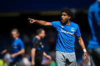 Everton's Ashley Williams during the pre-match warm-up     <br /> <br /> <br /> Photographer Craig Mercer/CameraSport<br /> <br /> The Premier League - Chelsea v Everton - Sunday 27th August 2017 - Stamford Bridge - London<br /> <br /> World Copyright &copy; 2017 CameraSport. All rights reserved. 43 Linden Ave. Countesthorpe. Leicester. England. LE8 5PG - Tel: +44 (0) 116 277 4147 - admin@camerasport.com - www.camerasport.com