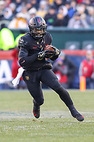 Philadelphia, PA - December 8, 2018: Army Black Knights quarterback Kelvin Hopkins Jr. (8) runs the ball during the 119th game between Army vs Navy at Lincoln Financial Field in Philadelphia, PA. (Photo by Elliott Brown/Media Images International)