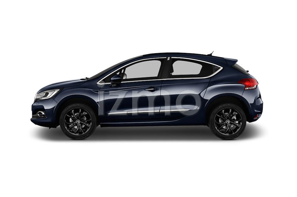 2016 Ds Ds4 Opera Blue 5 Door Hatchback Side View Car Pics Izmostock