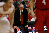 Coach Thad Matta in the second half at Value City Arena in Columbus Jan. 4, 2013 (Dispatch photo by Eric Albrecht)