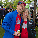 Peter and Heidi Parker at the 2019 Reno Tahoe Odyssey start at Wingfield park in Reno on May 31, 2019.