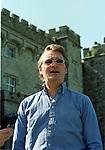 Lord Henry Mt. Charles speaking to mirror Man Pat Flanagan.Pic Fran Caffrey / Newsfile