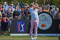 Rickie Fowler (USA) watches his tee shot on 7 during round 2 of the Arnold Palmer Invitational at Bay Hill Golf Club, Bay Hill, Florida. 3/8/2019.<br /> Picture: Golffile | Ken Murray<br /> <br /> <br /> All photo usage must carry mandatory copyright credit (&copy; Golffile | Ken Murray)