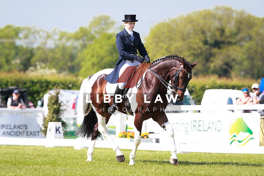 IRL-Tegan White (TEXAN STYLE) GEORGE MERNAGH MEMORIAL CIC3* DRESSAGE: 2016 IRL-Tattersalls International Horse Trial (Friday 3 June) CREDIT: Libby Law COPYRIGHT: LIBBY LAW PHOTOGRAPHY