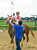 Bluff winning at Delaware Park on 7/4/15
