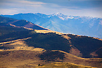 Mission Mountains and foothills in western Montana