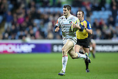 2nd December 2017, Rioch Arena, Coventry, England; Aviva Premiership rugby, Wasps versus Leicester; Jonah Holmes of Leicester Tigers running 60 metres to score under the posts