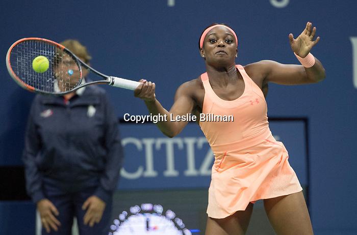 Sloane Stephens wins against Venus Williams