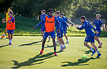 08.08.18 Rangers training: Ovie Ejaria