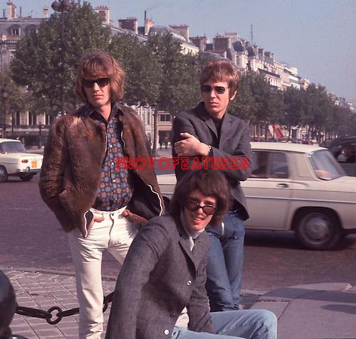 Walker Brothers 1966 in Paris