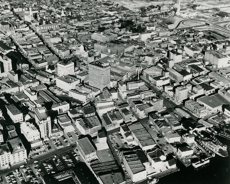 UNDATED..Historical...View of Downtown Norfolk.Commercial Place...NEG#.NRHA#..
