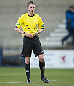Referee Paul Robertson ...