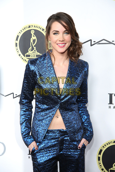 LOS ANGELES, CA - FEBRUARY 15: Lyndon Smith from 'Parenthood' on the red carpet at the 2014 Make-Up Artist and Hair Stylist Guild Awards in Los Angeles, CA on February 15, 2014.  <br /> CAP/MPI/RTNWeeks<br /> &copy;RTNWeeks/MediaPunch/Capital Pictures