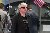 Duran Duran during the soundcheck before they perform on Good Morning America. New York City. June 18, 2012. &copy;&nbsp;RW/MediaPunch Inc. NORTEPHOTO.COM<br />