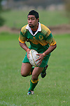 Drury halfback, D. Tevita.Counties Manukau Premier Club Rugby, Drury vs Bombay played at the Drury Domain, on the 14th of April 2006. Bombay won 34 - 13.