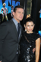 Channing Tatum and Jenna Dewan-Tatum at the premiere of 'Magic Mike' at the closing night of the 2012 Los Angeles Film Festival held at Regal Cinemas L.A. Live on June 24, 2012 in Los Angeles, California. © mpi25/MediaPunch Inc. /NORTEPHOTO.COM<br />