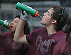 Players on the North Shore varsity football team stay hydrated during practice at North Shore High School in Glen Head on Thursday, Aug. 18, 2016.