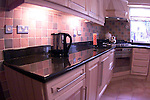 The kitchen.Pic of David Caffreys counter top.Pic Fran CAffrey NEwsfile