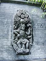 Bali, Denpasar. Art in Denpasar.'