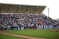 General view of a Minnesota Twins Spring Training game against the Boston Red Sox on March 16, 2016 at Hammond Stadium in Fort Myers, Florida.  Minnesota defeated Boston 9-4.  (Mike Janes/Four Seam Images)