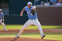 Starting pitcher Alex White #6 of the North Carolina Tar Heels in action against the Coastal Carolina Chanticleers at Boshamer Stadium May 30, 2010, in Chapel Hill, North Carolina.  Photo by Brian Westerholt / Four Seam Images