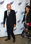 Patrick Stewart with wife Sunny Ozell attending the The 2013 American Theatre Wing's Annual Gala honoring Harold Prince at the Plaza Hotel in New York City on September 16, 2013