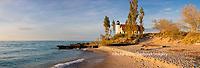 64795-01406 Point Betsie Lighthouse on Lake Michigan, Benzie County, Frankfort, MI