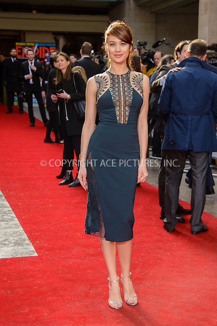 WWW.ACEPIXS.COM<br /> <br /> March 29 2015, London<br /> <br /> Olga Kurylenko arriving at the Jameson Empire Awards at the Grosvenor Hotel on March 29 2015 in London.<br /> <br /> By Line: Famous/ACE Pictures<br /> <br /> <br /> ACE Pictures, Inc.<br /> tel: 646 769 0430<br /> Email: info@acepixs.com<br /> www.acepixs.com