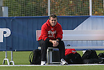 12 November 2008: Maryland head coach Sasho Cirovski. The University of Maryland defeated the University of North Carolina 1-0 at Koka Booth Stadium at WakeMed Soccer Park in Cary, NC in a men's ACC tournament quarterfinal game.