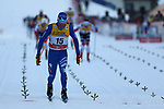 6th January 2018, Val di Fiemme, Fiemme Valley, Italy; FIS Cross Country World Cup, Mens 15km C Mst; Francesco De Fabiani (ITA)