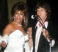 Mary Wilson Mick Jagger 1983<br /> Photo By John Barrett/PHOTOlink.