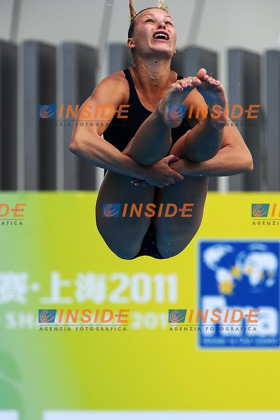 Olena FEDOROVA Ukraine.Women's 1m Springboard - Trampolino 1m donne.Shanghai 19/7/2011 .14th FINA World Championships.Foto Andrea Staccioli Insidefoto