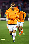 UEFA Champions League 2017/2018.<br /> Quarter-finals 1st leg.<br /> FC Barcelona vs AS Roma: 4-1.<br /> Daniele De Rossi.