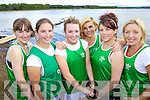 St Brendans Junior Ladies Crew Emma Brosnan, Ciara Brosnan, Eimer Casey, Noretta Brosnan, Sarah Brosnan and Clare O'Donoghue pictured at Killarney Regatta at O'Mahonys point, Killarney on Sunday.