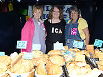 Margaret Curley, Mary Glennon and Rita Maxwell pictured at the Duleek ICA stall at Duleek Fair day. Photo:Colin Bell/pressphotos.ie