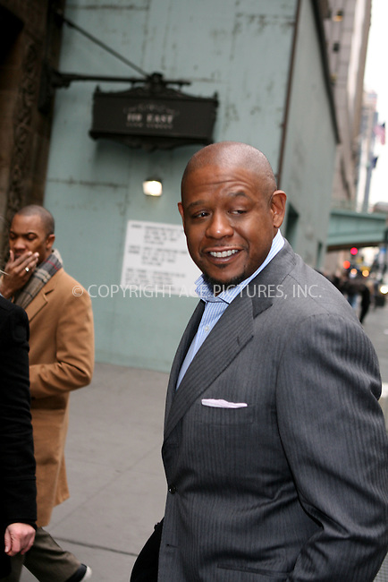 WWW.ACEPIXS.COM ** ** ** ....January 22nd, 2007, New York City. ....Forest Whitaker arrives at Cipriani to attend Cosmopolitan Honors Nick Lachey as Fun Fearless Man of the Year. ....Please byline: Philip Vaughan -- ACEPIXS.COM.. *** ***  ..Ace Pictures, Inc:  ..Philip Vaughan (212) 243-8787 or (646) 769 0430..e-mail: info@acepixs.com..web: http://www.acepixs.com