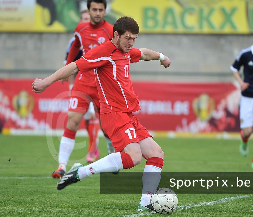 Scotland U19 - Georgia U19 : Budu Zivzivadze.foto DAVID CATRY / Nikonpro.be
